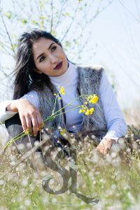 Lenteshoot bloemen