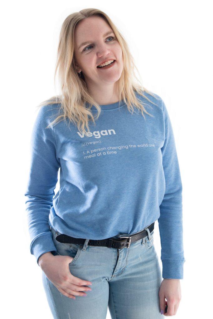 Model Vegan meening